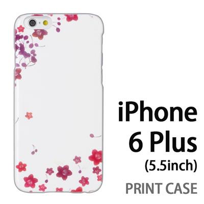 iPhone6 Plus (5.5インチ) 用『0312 桜フレーム』特殊印刷ケース【 iphone6 plus iphone アイフォン アイフォン6 プラス au docomo softbank Apple ケース プリント カバー スマホケース スマホカバー 】の画像
