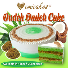 [Emicakes] Best-selling Ondeh Ondeh Cake♥ Now available in 15cm! ♥