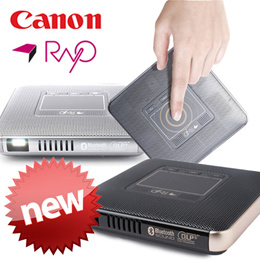 ★$6 Coupon★[Canon Rayo] Multi mini Smart Beam DLP projector / Cordless / Android OS / 100 Lumen