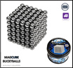 ❤FREE SHIPPING❤ MAGCUBE / NEODYMIUM 216 PCS x 5MM (MAGNETIC BALLS / BUCKY BALLS / NEO BALLS / SPHERE BEADS) ❤READY STOCKS❤
