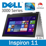 Dell Inspiron 11 3000 Series Intel Pentium Quad Core - Tablet mode / Tablet stand mode / Tent mode / Laptop mode