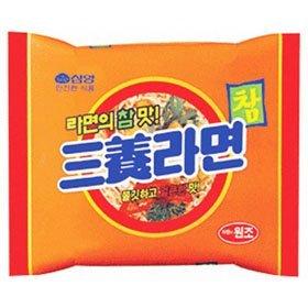 【韓国食品・韓国ラーメン】 ■韓国の三養ラーメン(辛さ1)■の画像