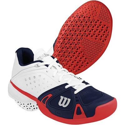 ウイルソン(Wilson) メンズ ラッシュ プロ(RUSH PRO) WH/NY/RD WRS320530U 【テニスシューズ フットウェア ハードコート/カーペットコート ウィルソン】の画像