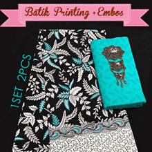 Kain Batik Printing + Embos - Tradisional -  Part 2