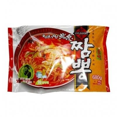 【韓国食品・韓国の冷凍品】 ■王ソバン北京ちゃんぽんセット(380g)■の画像