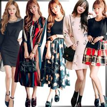 ♥ 1/06 追加♥正規品♥送料無料で♥韓国ファッション♥長袖、半袖、セレブなOL気質の職業の服装,レーススカート,透かし彫りの透明腰腰スカートセクシーなワンピース、学院のスタイル♥刺繍、プリント、小花♥ワンピース、半身裙スカート、偽二点セット♥韓国風、ストリート潮流♥一字肩、シフォンスカート、サスペンダースカート、バックレス♥セクシーなワンピース,レディースファッション♥♥持续更新中...