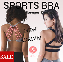New DESIGN!Sports Bra YOGA WEAR Sports wear shirt Vest★Premium quality★Tank TOP plaza dancing wear Yoga Bra/Gym running Wear pant/Capris/Shorts/Running★T-shirt★vest Fast delivery HIGH quality