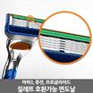 ★무료배송★질레트 면도기 면도날 호환 프로글레이드 5중날 12입