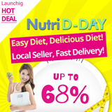 [UP TO 68% Launching Sale ] ★ First Diet Brand in Korea ★ Once before going to bed SPECIAL ALL NEW ★  Easy Diet Delicious Diet! Diet Shake Diet coffee Diet Soup ★ HCA 750mg ★ Nutri D-Day Diet ★