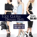 Designed Made by Young Hungry Free! Opening Special for Tops/Culottes/Dresses/Skirts