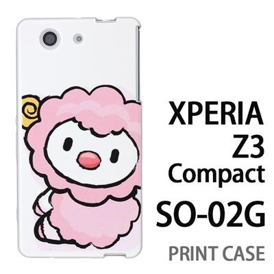 XPERIA Z3 Compact SO-02G 用『0723 干支 未』特殊印刷ケース【 xperia z3 compact so-02g so02g SO02G xperiaz3 エクスペリア エクスペリアz3 コンパクト docomo ケース プリント カバー スマホケース スマホカバー】の画像