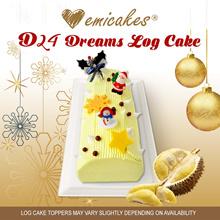 [Emicakes] D24 Dreams Log Cake 700-750g