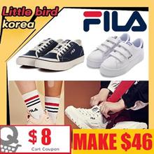 [FILA] Best Fila Korea Shoes/authentic /Velcro shoes /Classic Kicks
