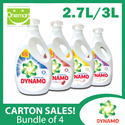 [Carton Sale] Dynamo 4 x Power Gel 3L/2.7L Regular/Color Care/Anti-Bacteria/Downy Passion