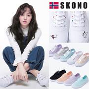 [SKONO] ★SNSで話題のスニーカー★ Norway brands canvas スニーカー 韓国の人気ブランド スニーカー/ランニングシューズスポーツシューズ パンプス靴 kpop star