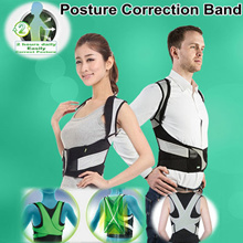 QXPRESS FREE*Therapy Back Posture Corrector /back support/  Posture Correction Band  / Body Posture  / Hunchback Correction/for KidsWomens and mens!