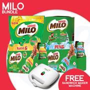 [Nestle] Milo Premium Bundle Promotion 【Spend $38 and get a Free Cornell Sandwich Maker!】