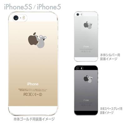 【iPhone5S】【iPhone5】【iPhone5sケース】【iPhone5ケース】【カバー】【スマホケース】【クリアケース】【クリアーアーツ】【コアラ】 06-ip5s-ca0019の画像