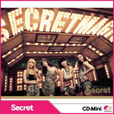 【韓国盤★CD】SECRET 1st Mini Album Secret Time 「Magic」【smtb-k】【kb】 ヒョソン ジンガー ジウン ソナ シークレットの画像