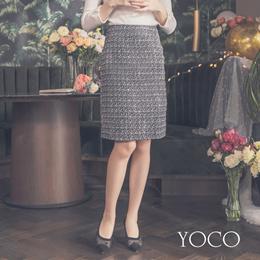 YOCO - Classic Woolen Skirt-182201-Winter