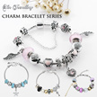 Crystals from Swarovski® - Her Jewellery Charm Bracelets Series - SG Seller - Ready Stock