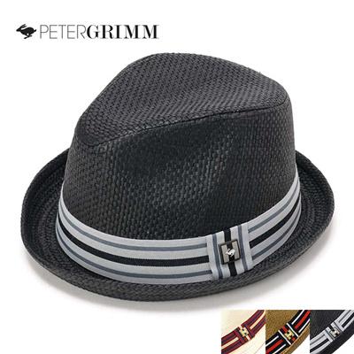 ピーターグリム PETER GRIMM 帽子 中折れストローハット 麦わら帽子 Depp PGF1108の画像