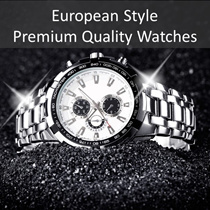 【Flat $15.90 Nett】European Style Premium Quality Stainless Steel Watches