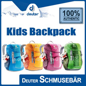[DEUTER] Schmusebär Backpack for children aged 3 and above! S-shaped shoulder straps/Comfortable soft padded back! FREE Shipping! Guaranteed 100% Authentic Local Seller