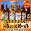 1000円クーポン使用可能!!送料無料福袋!とっておきの地ビールセット1(金しゃち330ml×6本)