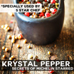 Krystal Pepper : The Best N Rarest Peppercorns in the World : Organic Black White Red