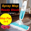 Microfiber Spray Mop new multi-purpose floor cleaning spray mop care creative household items steam