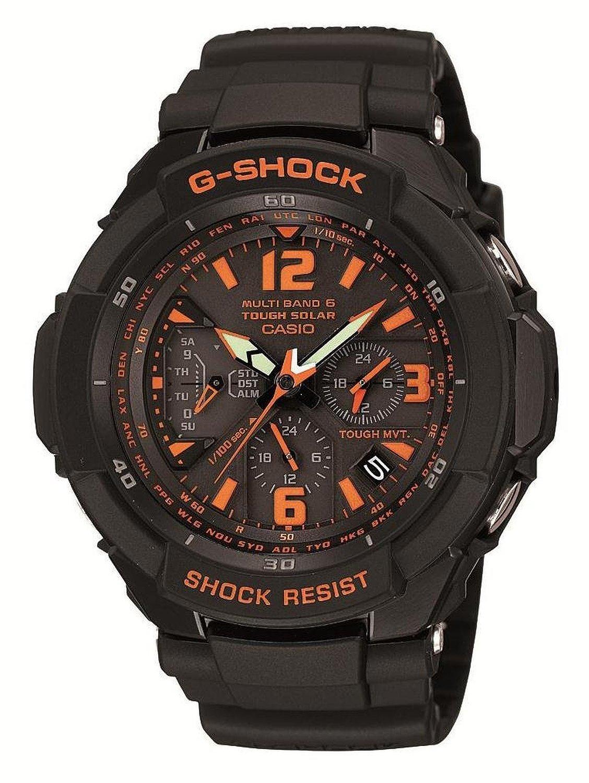 【クリックで詳細表示】カシオ[カシオ]CASIO 腕時計 G-SHOCK GRAVITYMASTER 世界6局対応電波ソーラー GW-3000B-1AJF