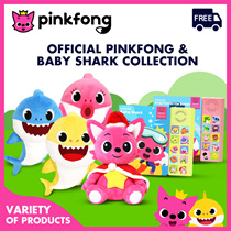 Pinkfong - Pinkfong - Shark Family Sound Doll-Baby Shark Mother Shark Father Shark Soundbook GIFTS
