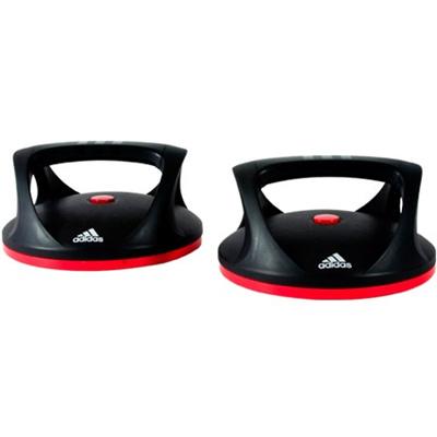 アディダス(adidas) スイベル プッシュアップ バー ADAC-11401 【筋トレ トレーニング 腕立】の画像
