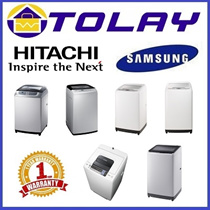 [LOCAL WARRANTY] SAMSUNG / HITACHI TOP LOAD WASHER 7.5KG / 8KG / 9KG / 10KG