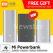100% Authentic★Xiaomi Mi Power Bank 20000mAh 16000mAh 10000mAh 5000mAh PowerBank★ Compatible for | iPhone | Samsung |Asus| Huawei | Tablets| Cheapest in Qoo10 [ FREE USB Light/Fans ] ★[Local Seller]