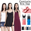 ◣BRA TOP◥ CAMISOLE TOP ★LOCAL SHIPPING★ Premium High quality  dress bra cup /Tank Top bra