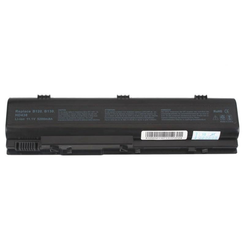 【クリックで詳細表示】New 6 Cell 5200mAh Battery for Dell Latitude 120L 0TD612 XD184 Black Top-Q