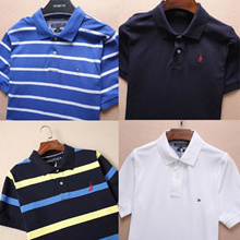 Nautica/Tommy Hilfiger/Men's T-Shirt/shirts/simple polo shirt/Male/Female Models/Nightwear/Casual/Wo