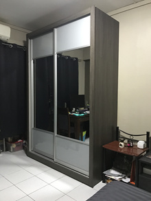 [M-Shop]Modular Wardrobe | Select your desire door interior layout exterior wood and interior wood