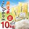 【送料無料】無洗米コシヒカリ!!【5kg×2】こしひかり100% 10kg 【一部地域は追加送料】