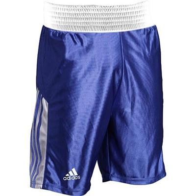 アディダス(adidas) アマチュアボクシング ショーツ L ADITB152-BU-L ブルー L 【ボクシング ウェア パンツ 格闘技】の画像