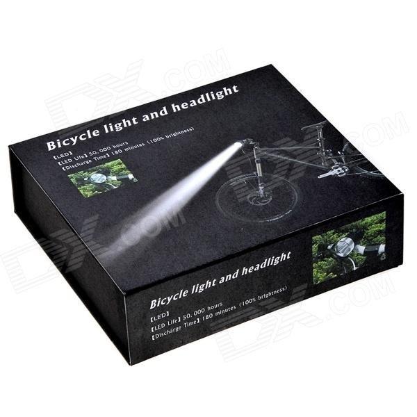 【クリックで詳細表示】COFLY Cree XM-L U2 800lm 3-Mode White Zooming Bike Light Headlamp - Red+ black (4 x 18650)