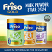 [[Single Tin]]Friso Gold Milk Powder Stages 2/3/4