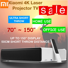 (Ready Stock) Promo Xiaomi Laser TV Mi projector Up to 150inches