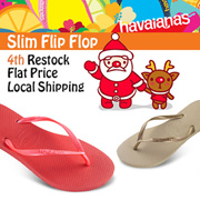 [Speedy Q][Chirstmas Gift!!]4th Restock! HAVAIANAS SLIM Filp flop 100% Authentic Local Fast Shipping Christmas Gift