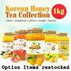 In Singpore★Korean Honey Cirton Tea★1kg Big Size/Korean Food/Korean Drink/Korean Tea/Yuzu/Yujacha/Grapefruit Tea/Lemon Tea/Ginger Tea/Quince Tea
