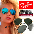 [Ray-ban]Best Model Aviator RB3025 RB3026 Local Free Shipping