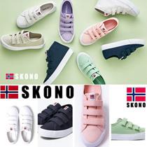[SKONO] ★SNSで話題のスニーカー★  Norway brands canvas スニーカー 韓国の人気ブランド スニーカー/ランニングシューズスポーツシューズ パンプス靴 k-pop Star シューズアキクラシックスニーカー 靴
