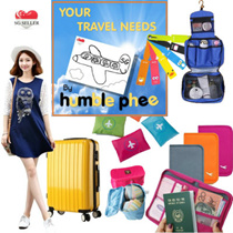 *10% Off*Trunk Partition Bag Travel Carrier Organizer SG Seller Free Shipping Ready Stocks Christmas Gift Foldable Underwear Pouch Luggage
